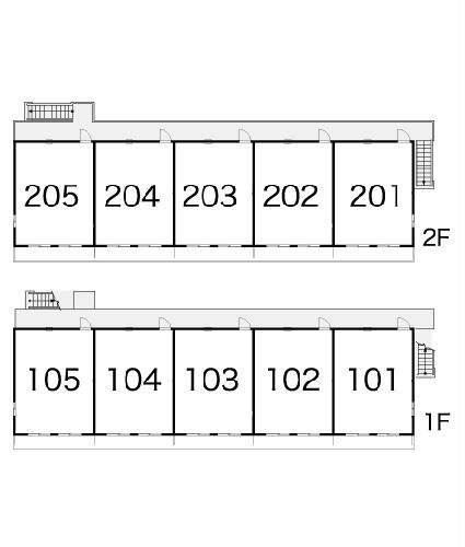 レオパレスグロリアスⅠ 105号室のその他