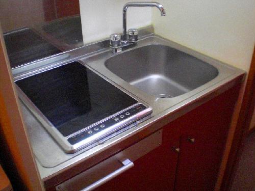 レオパレス栗橋Ⅱ 205号室のキッチン