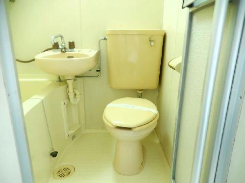 レオパレス八木崎NO2 202号室のトイレ