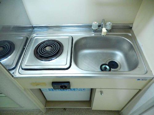 レオパレス八木崎NO2 202号室のキッチン