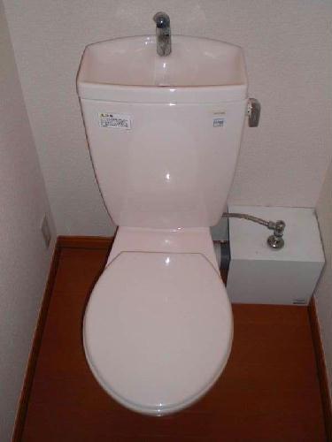 レオパレスかすや 107号室のトイレ