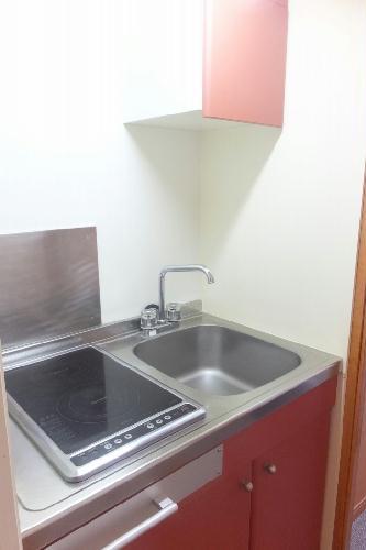 レオパレスカーム 107号室のキッチン
