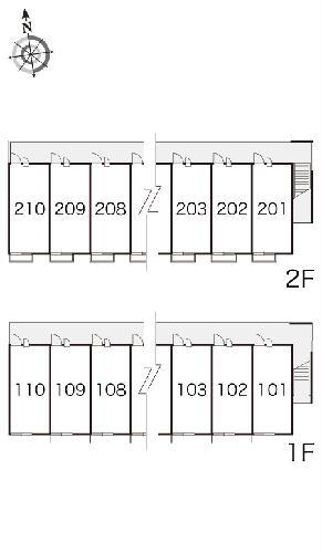 レオパレスカーム 107号室のその他