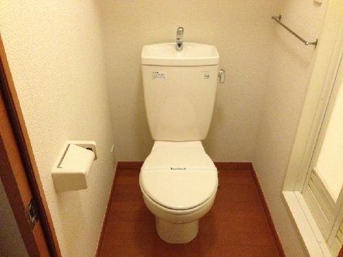 レオパレス花咲の丘Ⅰ 113号室のトイレ