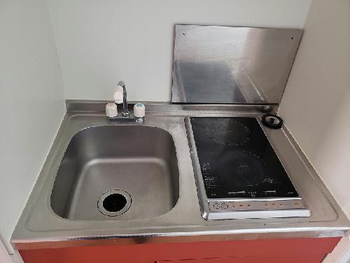 レオパレスライズ 106号室のキッチン