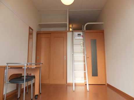 レオパレスHARASHIMA 102号室のリビング