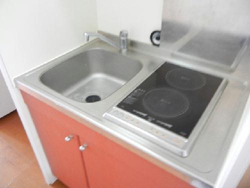 レオパレスHARASHIMA 102号室のキッチン