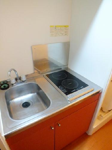レオパレス楓 205号室のキッチン