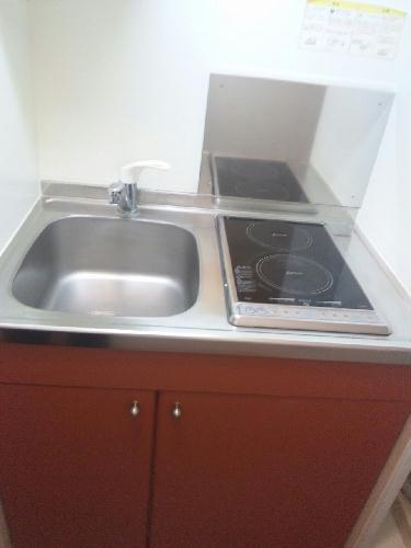 レオパレスAya 201号室のキッチン