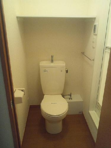 レオパレスAya 201号室のトイレ