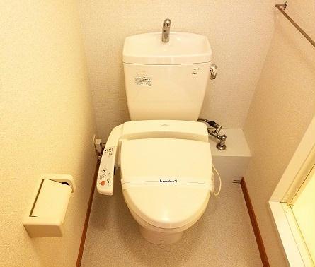 レオパレス寛 109号室のトイレ