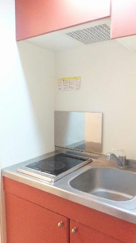 レオパレスギプフェル 102号室のキッチン
