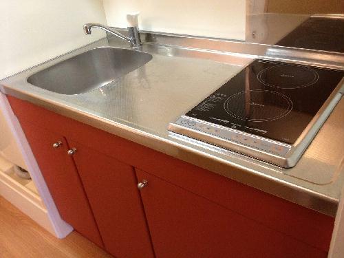 レオパレスミモザⅡ 204号室のキッチン