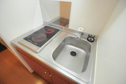 レオパレス一の宮 203号室のキッチン