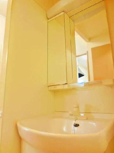 レオパレスカメリア 108号室の洗面所