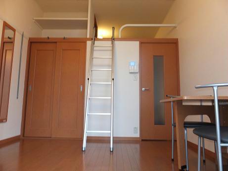 レオパレスグレープヒルB 101号室のリビング