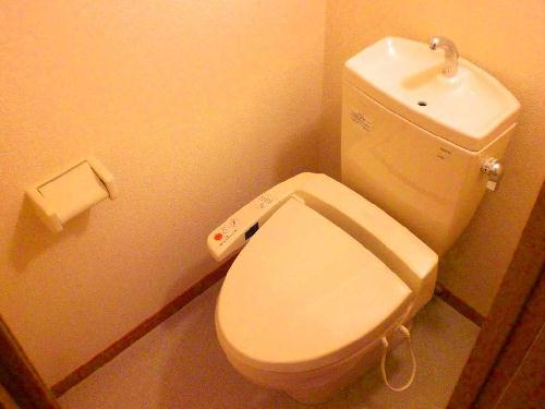 レオパレスグレープヒルB 101号室のトイレ