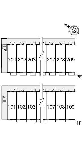 レオパレスバロンⅠ 102号室のその他