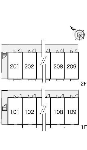 レオパレスバロンⅡ 206号室のその他