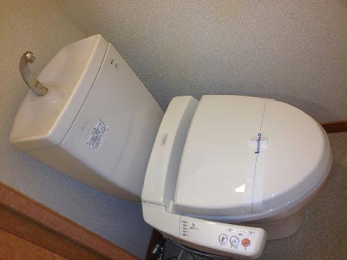 レオパレスくおれ 207号室のトイレ