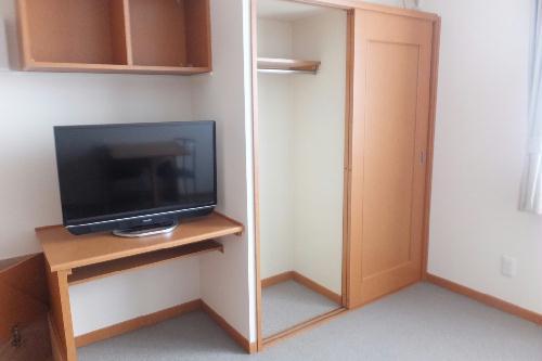 レオパレスラフィーネA 205号室の収納