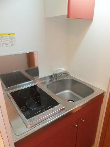 レオパレスラフィーネA 205号室のキッチン
