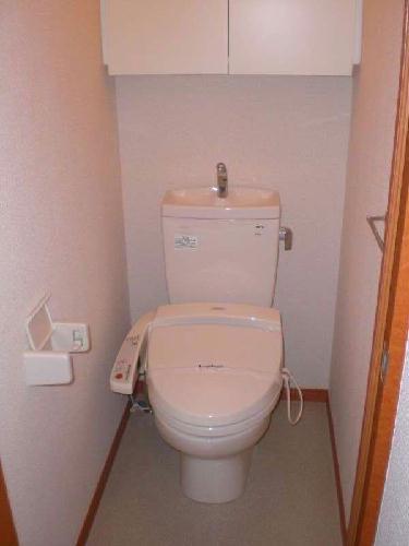 レオパレスブルームYK 103号室のトイレ