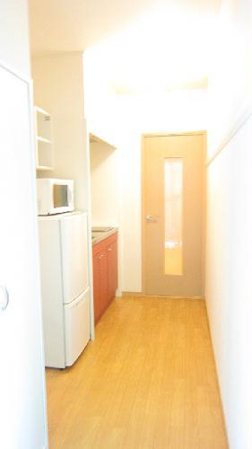 レオパレスガイア初雁 206号室の玄関