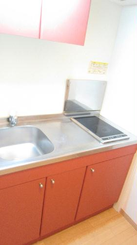レオパレスガイア初雁 206号室のキッチン