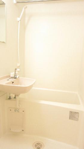 レオパレスガイア初雁 206号室の風呂