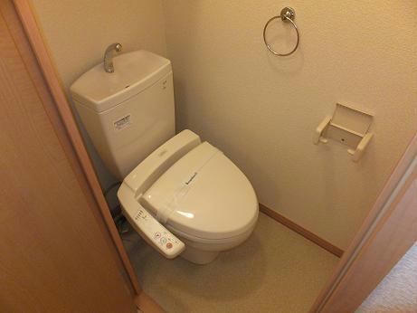 レオネクストシュラインRed 101号室のトイレ