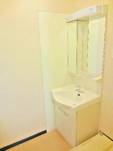 レオネクストステラⅢ 105号室の洗面所