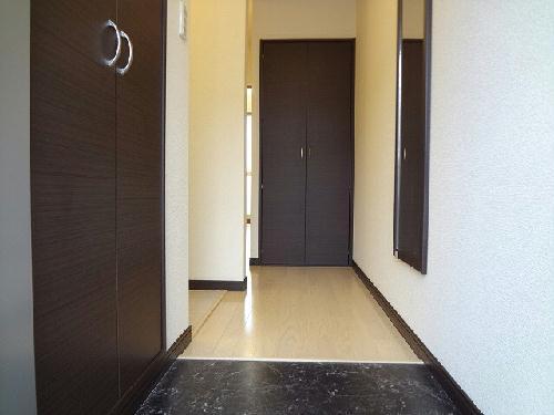 レオネクストクローナB 104号室の玄関