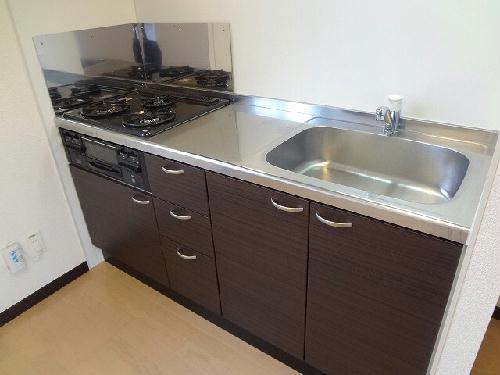 レオネクストクローナB 104号室のキッチン