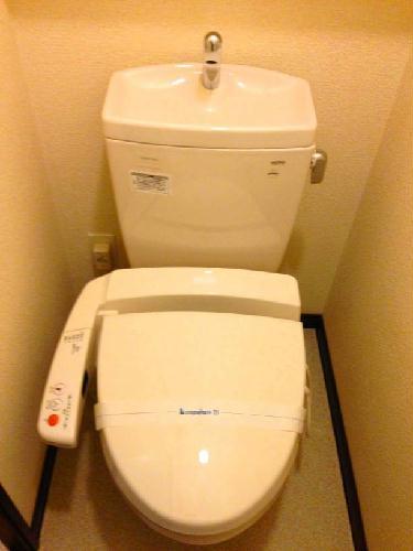 レオネクストパティオⅡ 202号室のトイレ