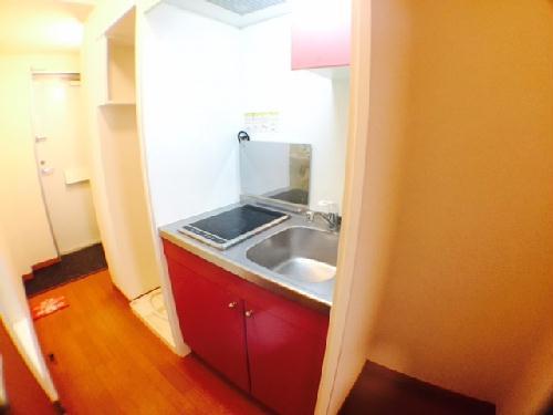 レオパレスモア天王 104号室のキッチン