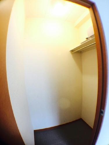 レオパレスモア天王 205号室の収納