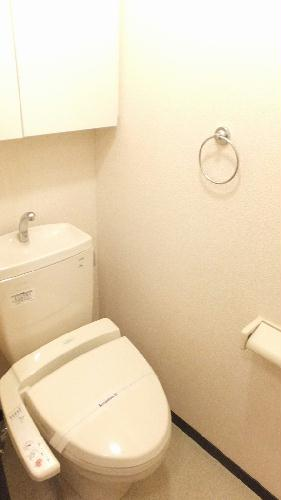 レオネクストメゾンエスポワール 106号室のトイレ