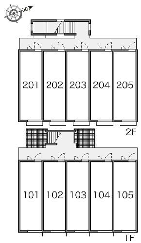 レオパレスsky 204号室のその他