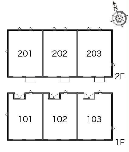 レオパレススカイ 203号室のその他
