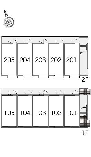 レオパレスラングシェーン 205号室のその他