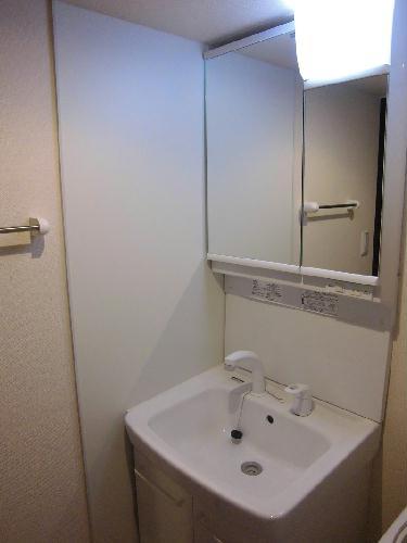 レオネクストwin boom 108号室の洗面所