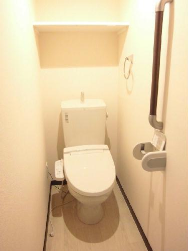 レオネクストwin boom 108号室のトイレ
