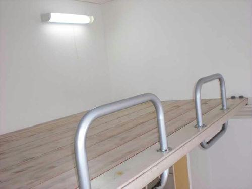 レオパレス都立大学第3 105号室の風呂