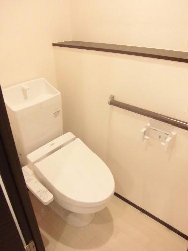レオネクストタケウチ 101号室のトイレ