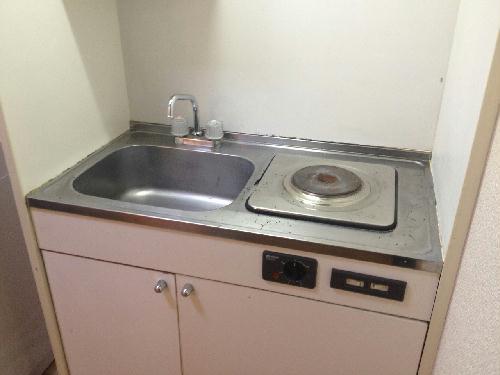 レオパレスLuceⅡ 104号室のキッチン