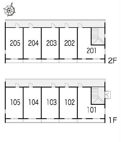 レオパレスLuceⅡ 104号室のその他