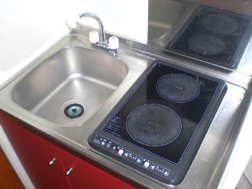 レオパレス藤 202号室のキッチン