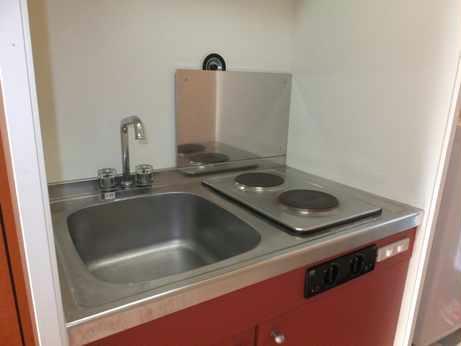 レオパレスパティオ 114号室のキッチン