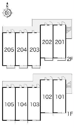 レオパレスAKASE 203号室のその他